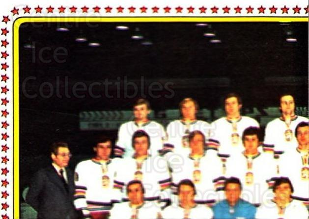 1979 Panini Stickers #70 Team Czech, Team Photo<br/>7 In Stock - $2.00 each - <a href=https://centericecollectibles.foxycart.com/cart?name=1979%20Panini%20Stickers%20%2370%20Team%20Czech,%20Tea...&quantity_max=7&price=$2.00&code=231976 class=foxycart> Buy it now! </a>