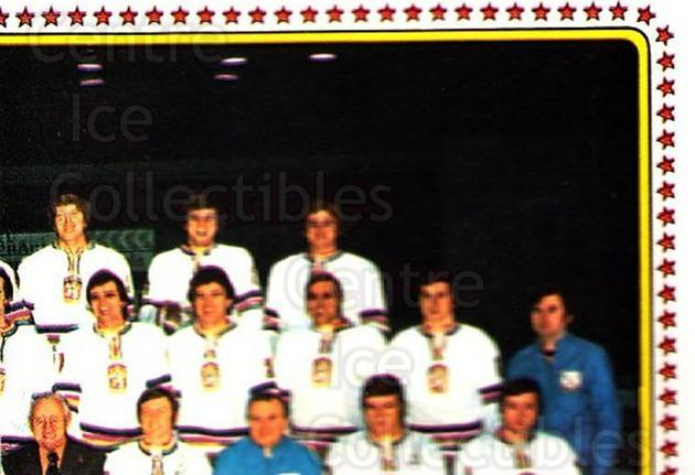 1979 Panini Stickers #71 Team Czech, Team Photo<br/>7 In Stock - $2.00 each - <a href=https://centericecollectibles.foxycart.com/cart?name=1979%20Panini%20Stickers%20%2371%20Team%20Czech,%20Tea...&quantity_max=7&price=$2.00&code=231977 class=foxycart> Buy it now! </a>