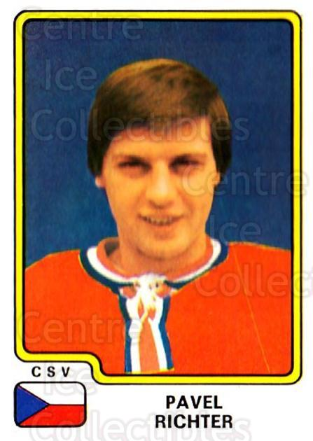 1979 Panini Stickers #88 Pavel Richter<br/>4 In Stock - $2.00 each - <a href=https://centericecollectibles.foxycart.com/cart?name=1979%20Panini%20Stickers%20%2388%20Pavel%20Richter...&quantity_max=4&price=$2.00&code=231994 class=foxycart> Buy it now! </a>