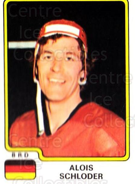 1979 Panini Stickers #107 Alois Schloder<br/>6 In Stock - $2.00 each - <a href=https://centericecollectibles.foxycart.com/cart?name=1979%20Panini%20Stickers%20%23107%20Alois%20Schloder...&quantity_max=6&price=$2.00&code=232013 class=foxycart> Buy it now! </a>