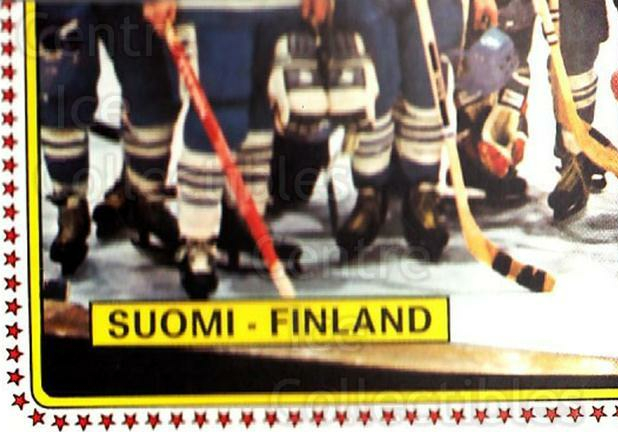 1979 Panini Stickers #160 Team Finland, Team Photo<br/>1 In Stock - $2.00 each - <a href=https://centericecollectibles.foxycart.com/cart?name=1979%20Panini%20Stickers%20%23160%20Team%20Finland,%20T...&quantity_max=1&price=$2.00&code=232066 class=foxycart> Buy it now! </a>