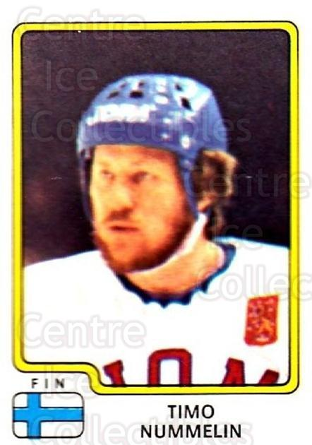 1979 Panini Stickers #165 Timo Nummelin<br/>1 In Stock - $2.00 each - <a href=https://centericecollectibles.foxycart.com/cart?name=1979%20Panini%20Stickers%20%23165%20Timo%20Nummelin...&quantity_max=1&price=$2.00&code=232071 class=foxycart> Buy it now! </a>