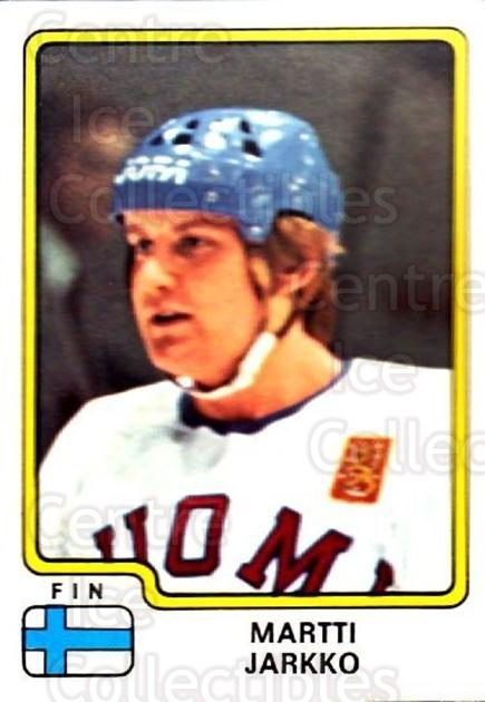 1979 Panini Stickers #171 Martti Jarkko<br/>5 In Stock - $2.00 each - <a href=https://centericecollectibles.foxycart.com/cart?name=1979%20Panini%20Stickers%20%23171%20Martti%20Jarkko...&quantity_max=5&price=$2.00&code=232077 class=foxycart> Buy it now! </a>