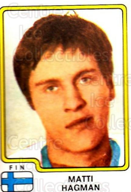 1979 Panini Stickers #172 Matti Hagman<br/>1 In Stock - $2.00 each - <a href=https://centericecollectibles.foxycart.com/cart?name=1979%20Panini%20Stickers%20%23172%20Matti%20Hagman...&price=$2.00&code=232078 class=foxycart> Buy it now! </a>