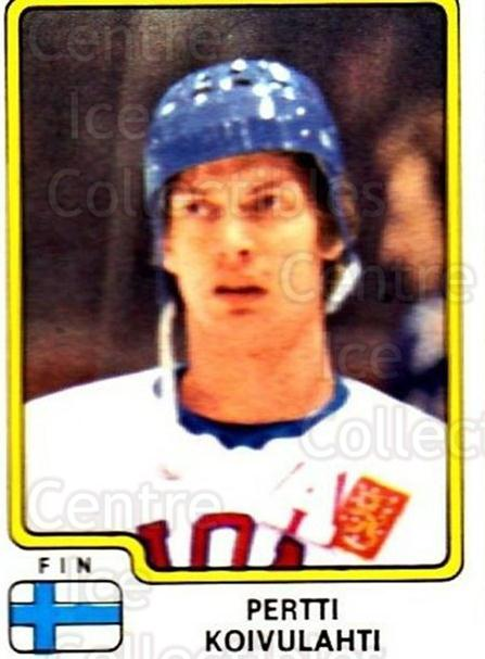 1979 Panini Stickers #174 Pertti Korvulahti<br/>3 In Stock - $2.00 each - <a href=https://centericecollectibles.foxycart.com/cart?name=1979%20Panini%20Stickers%20%23174%20Pertti%20Korvulah...&quantity_max=3&price=$2.00&code=232080 class=foxycart> Buy it now! </a>