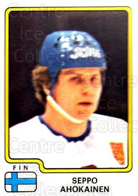 1979 Panini Stickers #175 Seppo Ahokainen<br/>6 In Stock - $2.00 each - <a href=https://centericecollectibles.foxycart.com/cart?name=1979%20Panini%20Stickers%20%23175%20Seppo%20Ahokainen...&quantity_max=6&price=$2.00&code=232081 class=foxycart> Buy it now! </a>