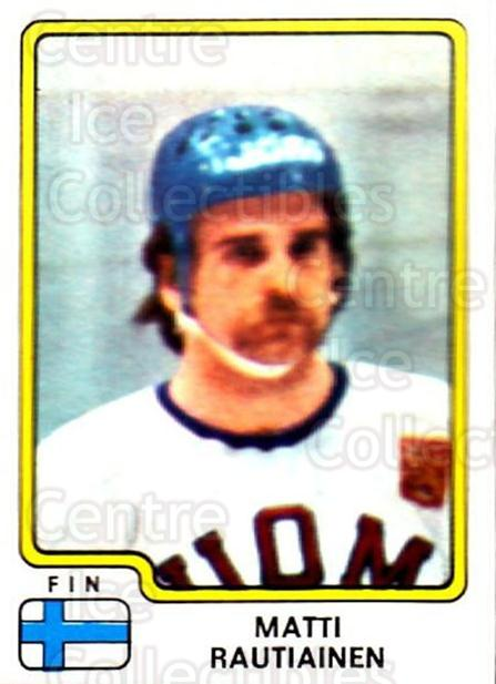 1979 Panini Stickers #179 Matti Rautiainen<br/>3 In Stock - $2.00 each - <a href=https://centericecollectibles.foxycart.com/cart?name=1979%20Panini%20Stickers%20%23179%20Matti%20Rautiaine...&quantity_max=3&price=$2.00&code=232085 class=foxycart> Buy it now! </a>