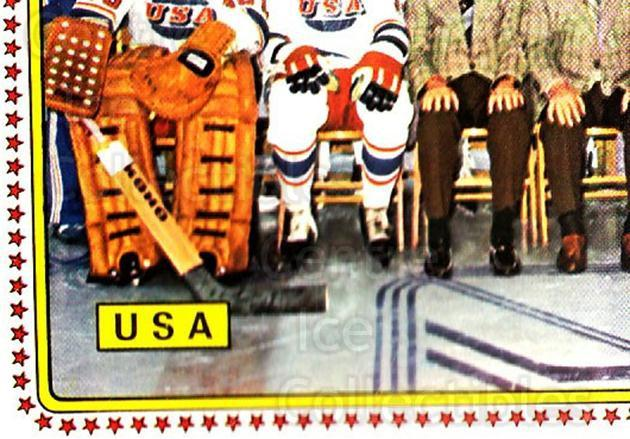 1979 Panini Stickers #204 Team USA, Team Photo<br/>8 In Stock - $2.00 each - <a href=https://centericecollectibles.foxycart.com/cart?name=1979%20Panini%20Stickers%20%23204%20Team%20USA,%20Team%20...&quantity_max=8&price=$2.00&code=232110 class=foxycart> Buy it now! </a>