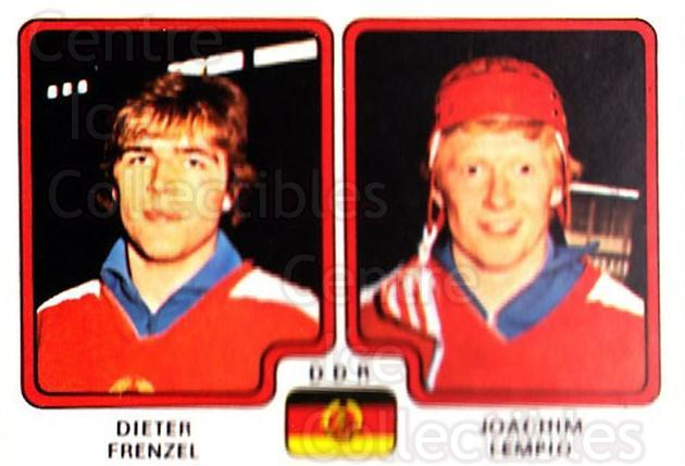1979 Panini Stickers #251 Dieter Frenzel, Joachim Lempio<br/>3 In Stock - $2.00 each - <a href=https://centericecollectibles.foxycart.com/cart?name=1979%20Panini%20Stickers%20%23251%20Dieter%20Frenzel,...&quantity_max=3&price=$2.00&code=232157 class=foxycart> Buy it now! </a>
