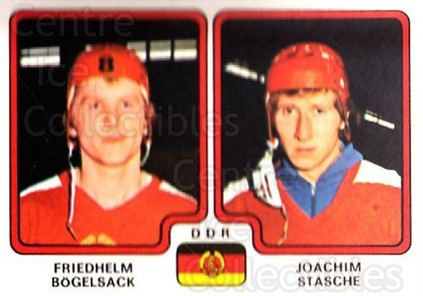 1979 Panini Stickers #255 Friedhelm Bogelsack, Joachim Stasche<br/>9 In Stock - $2.00 each - <a href=https://centericecollectibles.foxycart.com/cart?name=1979%20Panini%20Stickers%20%23255%20Friedhelm%20Bogel...&quantity_max=9&price=$2.00&code=232161 class=foxycart> Buy it now! </a>