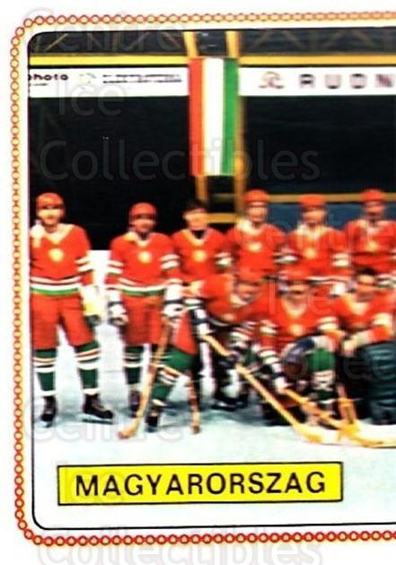 1979 Panini Stickers #265 Team Hungry, Team Photo<br/>7 In Stock - $2.00 each - <a href=https://centericecollectibles.foxycart.com/cart?name=1979%20Panini%20Stickers%20%23265%20Team%20Hungry,%20Te...&quantity_max=7&price=$2.00&code=232171 class=foxycart> Buy it now! </a>