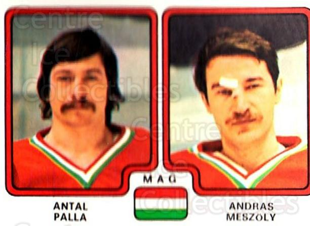 1979 Panini Stickers #270 Antal Palla, Andras Meszoly<br/>9 In Stock - $2.00 each - <a href=https://centericecollectibles.foxycart.com/cart?name=1979%20Panini%20Stickers%20%23270%20Antal%20Palla,%20An...&quantity_max=9&price=$2.00&code=232176 class=foxycart> Buy it now! </a>