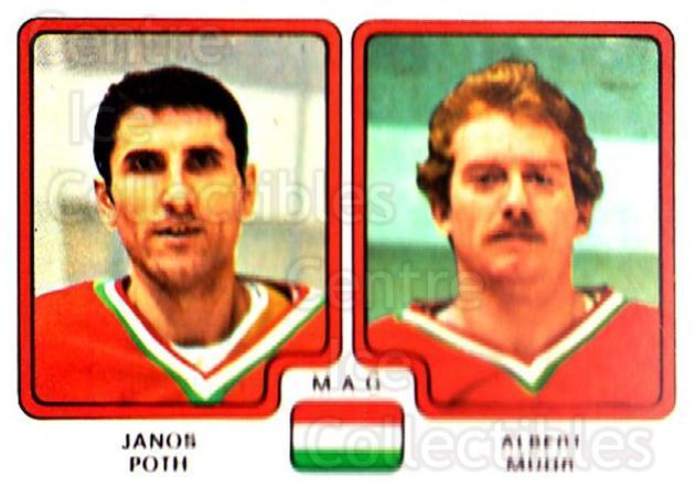 1979 Panini Stickers #272 Janos Poth, Albert Muhr<br/>8 In Stock - $2.00 each - <a href=https://centericecollectibles.foxycart.com/cart?name=1979%20Panini%20Stickers%20%23272%20Janos%20Poth,%20Alb...&quantity_max=8&price=$2.00&code=232178 class=foxycart> Buy it now! </a>