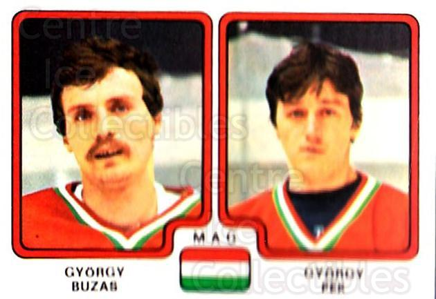 1979 Panini Stickers #273 Gyorgy Buzas, Gyorgy Pek<br/>5 In Stock - $2.00 each - <a href=https://centericecollectibles.foxycart.com/cart?name=1979%20Panini%20Stickers%20%23273%20Gyorgy%20Buzas,%20G...&quantity_max=5&price=$2.00&code=232179 class=foxycart> Buy it now! </a>