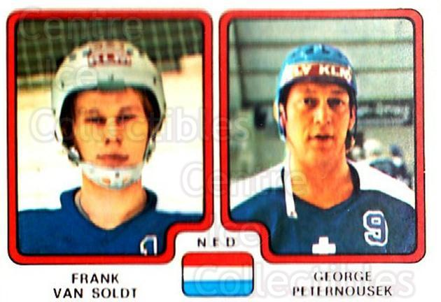 1979 Panini Stickers #277 Frank Van Soldt, George Peternousek<br/>5 In Stock - $2.00 each - <a href=https://centericecollectibles.foxycart.com/cart?name=1979%20Panini%20Stickers%20%23277%20Frank%20Van%20Soldt...&quantity_max=5&price=$2.00&code=232183 class=foxycart> Buy it now! </a>