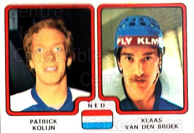 1979 Panini Stickers #278 Patrick Kolijn, Klass Van Den Broek<br/>4 In Stock - $2.00 each - <a href=https://centericecollectibles.foxycart.com/cart?name=1979%20Panini%20Stickers%20%23278%20Patrick%20Kolijn,...&quantity_max=4&price=$2.00&code=232184 class=foxycart> Buy it now! </a>