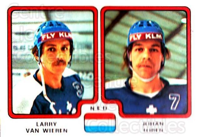 1979 Panini Stickers #279 Larry Van Wieren, Johan Toren<br/>7 In Stock - $2.00 each - <a href=https://centericecollectibles.foxycart.com/cart?name=1979%20Panini%20Stickers%20%23279%20Larry%20Van%20Wiere...&quantity_max=7&price=$2.00&code=232185 class=foxycart> Buy it now! </a>