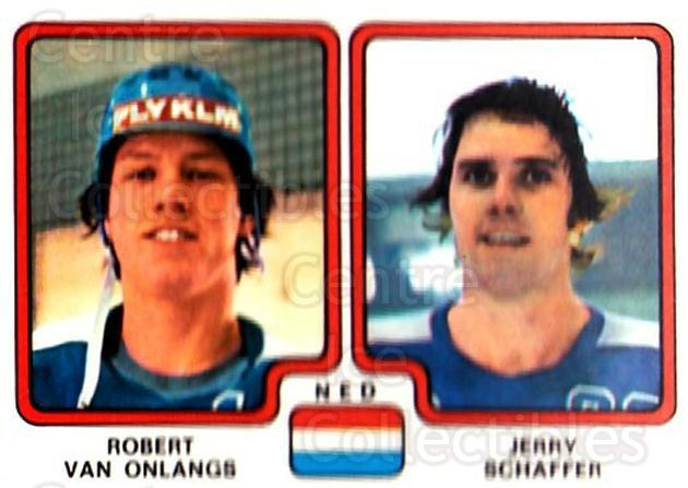 1979 Panini Stickers #280 Robert Van Onlangs, Jerry Schaffer<br/>7 In Stock - $2.00 each - <a href=https://centericecollectibles.foxycart.com/cart?name=1979%20Panini%20Stickers%20%23280%20Robert%20Van%20Onla...&quantity_max=7&price=$2.00&code=232186 class=foxycart> Buy it now! </a>