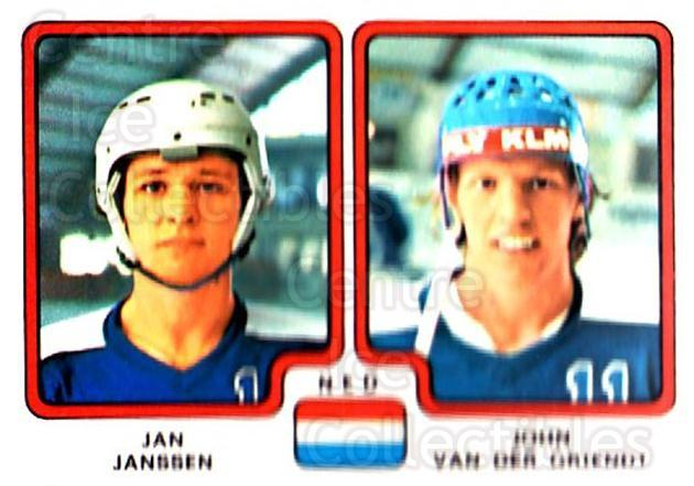 1979 Panini Stickers #281 Jan Janssen, John Van Der Griendt<br/>6 In Stock - $2.00 each - <a href=https://centericecollectibles.foxycart.com/cart?name=1979%20Panini%20Stickers%20%23281%20Jan%20Janssen,%20Jo...&quantity_max=6&price=$2.00&code=232187 class=foxycart> Buy it now! </a>