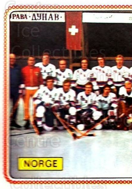 1979 Panini Stickers #292 Team Norway, Team Photo<br/>6 In Stock - $2.00 each - <a href=https://centericecollectibles.foxycart.com/cart?name=1979%20Panini%20Stickers%20%23292%20Team%20Norway,%20Te...&quantity_max=6&price=$2.00&code=232198 class=foxycart> Buy it now! </a>