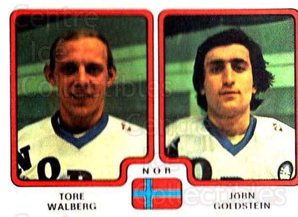 1979 Panini Stickers #294 Tore Walberg, Jorn Goldstein<br/>3 In Stock - $2.00 each - <a href=https://centericecollectibles.foxycart.com/cart?name=1979%20Panini%20Stickers%20%23294%20Tore%20Walberg,%20J...&quantity_max=3&price=$2.00&code=232200 class=foxycart> Buy it now! </a>