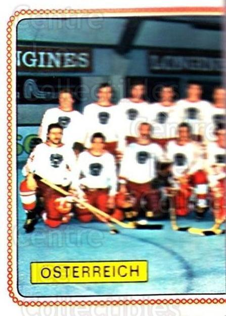 1979 Panini Stickers #301 Team Austria, Team Photo<br/>7 In Stock - $2.00 each - <a href=https://centericecollectibles.foxycart.com/cart?name=1979%20Panini%20Stickers%20%23301%20Team%20Austria,%20T...&quantity_max=7&price=$2.00&code=232207 class=foxycart> Buy it now! </a>