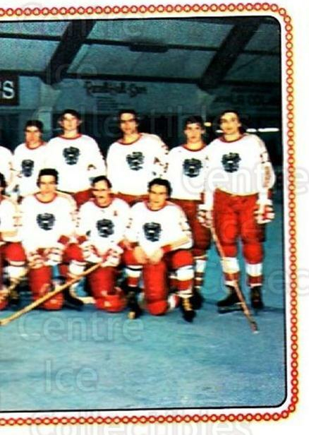 1979 Panini Stickers #302 Team Austria, Team Photo<br/>9 In Stock - $2.00 each - <a href=https://centericecollectibles.foxycart.com/cart?name=1979%20Panini%20Stickers%20%23302%20Team%20Austria,%20T...&quantity_max=9&price=$2.00&code=232208 class=foxycart> Buy it now! </a>