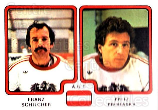 1979 Panini Stickers #303 Franz Schilcher, Fritz Prohaska<br/>8 In Stock - $2.00 each - <a href=https://centericecollectibles.foxycart.com/cart?name=1979%20Panini%20Stickers%20%23303%20Franz%20Schilcher...&quantity_max=8&price=$2.00&code=232209 class=foxycart> Buy it now! </a>