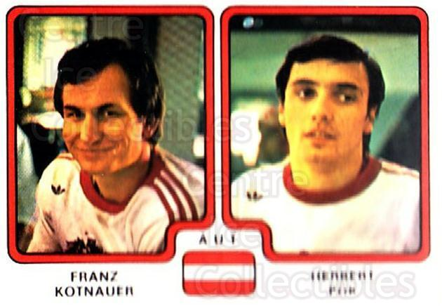 1979 Panini Stickers #306 Franz Kotnauer, Herbert Pok<br/>9 In Stock - $2.00 each - <a href=https://centericecollectibles.foxycart.com/cart?name=1979%20Panini%20Stickers%20%23306%20Franz%20Kotnauer,...&quantity_max=9&price=$2.00&code=232212 class=foxycart> Buy it now! </a>