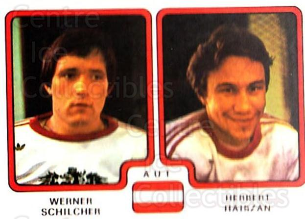 1979 Panini Stickers #309 Werner Schilcher, Herbert Haiszan<br/>9 In Stock - $2.00 each - <a href=https://centericecollectibles.foxycart.com/cart?name=1979%20Panini%20Stickers%20%23309%20Werner%20Schilche...&quantity_max=9&price=$2.00&code=232215 class=foxycart> Buy it now! </a>