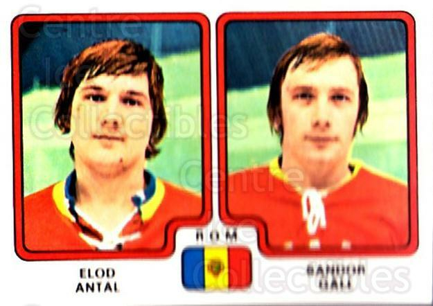1979 Panini Stickers #313 Eldo Antal, Sandor Gall<br/>7 In Stock - $2.00 each - <a href=https://centericecollectibles.foxycart.com/cart?name=1979%20Panini%20Stickers%20%23313%20Eldo%20Antal,%20San...&quantity_max=7&price=$2.00&code=232219 class=foxycart> Buy it now! </a>