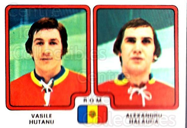 1979 Panini Stickers #315 Vasili Hutanu, Alexandru Halauca<br/>10 In Stock - $2.00 each - <a href=https://centericecollectibles.foxycart.com/cart?name=1979%20Panini%20Stickers%20%23315%20Vasili%20Hutanu,%20...&quantity_max=10&price=$2.00&code=232221 class=foxycart> Buy it now! </a>