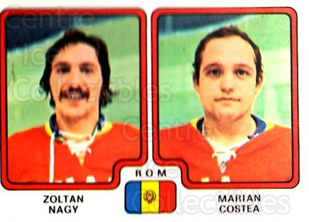 1979 Panini Stickers #317 Zoltan Nagy, Marian Costea<br/>6 In Stock - $2.00 each - <a href=https://centericecollectibles.foxycart.com/cart?name=1979%20Panini%20Stickers%20%23317%20Zoltan%20Nagy,%20Ma...&quantity_max=6&price=$2.00&code=232223 class=foxycart> Buy it now! </a>