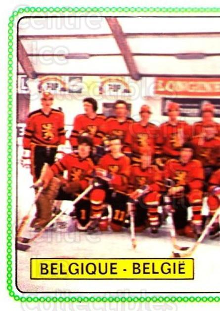 1979 Panini Stickers #337 Team Belgium, Team Photo<br/>9 In Stock - $2.00 each - <a href=https://centericecollectibles.foxycart.com/cart?name=1979%20Panini%20Stickers%20%23337%20Team%20Belgium,%20T...&quantity_max=9&price=$2.00&code=232243 class=foxycart> Buy it now! </a>