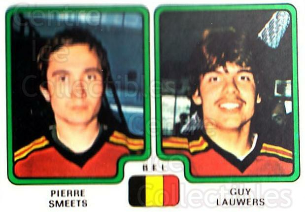 1979 Panini Stickers #339 Pierre Smeets, Guy Lauwers<br/>8 In Stock - $2.00 each - <a href=https://centericecollectibles.foxycart.com/cart?name=1979%20Panini%20Stickers%20%23339%20Pierre%20Smeets,%20...&quantity_max=8&price=$2.00&code=232245 class=foxycart> Buy it now! </a>