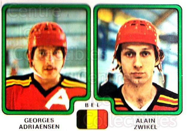 1979 Panini Stickers #340 Georges Adriaensen, Alain Zwikel<br/>12 In Stock - $2.00 each - <a href=https://centericecollectibles.foxycart.com/cart?name=1979%20Panini%20Stickers%20%23340%20Georges%20Adriaen...&quantity_max=12&price=$2.00&code=232246 class=foxycart> Buy it now! </a>