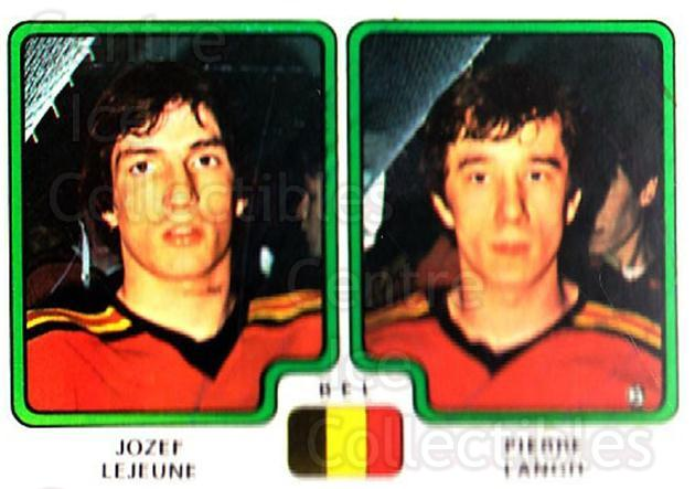 1979 Panini Stickers #344 Jozef Lejeune, Pierre Langh<br/>8 In Stock - $2.00 each - <a href=https://centericecollectibles.foxycart.com/cart?name=1979%20Panini%20Stickers%20%23344%20Jozef%20Lejeune,%20...&quantity_max=8&price=$2.00&code=232250 class=foxycart> Buy it now! </a>