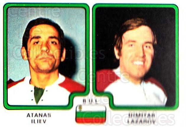 1979 Panini Stickers #347 Atanas Iliev, Dmitri Lazarov<br/>8 In Stock - $2.00 each - <a href=https://centericecollectibles.foxycart.com/cart?name=1979%20Panini%20Stickers%20%23347%20Atanas%20Iliev,%20D...&quantity_max=8&price=$2.00&code=232253 class=foxycart> Buy it now! </a>