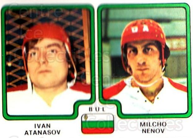 1979 Panini Stickers #350 Ivan Atanasov, Milcho Nevov<br/>9 In Stock - $2.00 each - <a href=https://centericecollectibles.foxycart.com/cart?name=1979%20Panini%20Stickers%20%23350%20Ivan%20Atanasov,%20...&quantity_max=9&price=$2.00&code=232256 class=foxycart> Buy it now! </a>