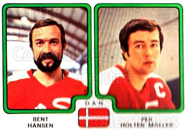 1979 Panini Stickers #363 Bent Hansen, Per Holton Moller<br/>7 In Stock - $2.00 each - <a href=https://centericecollectibles.foxycart.com/cart?name=1979%20Panini%20Stickers%20%23363%20Bent%20Hansen,%20Pe...&quantity_max=7&price=$2.00&code=232269 class=foxycart> Buy it now! </a>