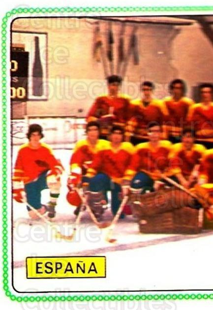 1979 Panini Stickers #369 Team Spain, Team Photo<br/>9 In Stock - $2.00 each - <a href=https://centericecollectibles.foxycart.com/cart?name=1979%20Panini%20Stickers%20%23369%20Team%20Spain,%20Tea...&quantity_max=9&price=$2.00&code=232275 class=foxycart> Buy it now! </a>