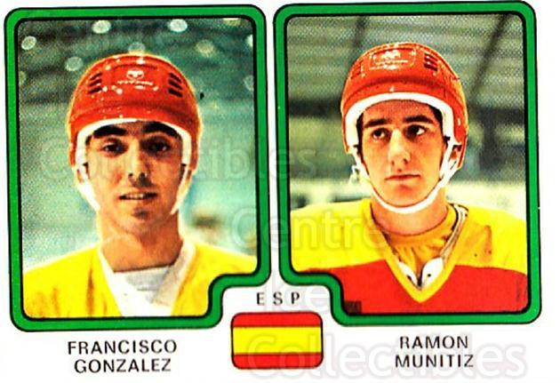 1979 Panini Stickers #372 Francisco Gonzalez, Ramon Munitiz<br/>11 In Stock - $2.00 each - <a href=https://centericecollectibles.foxycart.com/cart?name=1979%20Panini%20Stickers%20%23372%20Francisco%20Gonza...&quantity_max=11&price=$2.00&code=232278 class=foxycart> Buy it now! </a>
