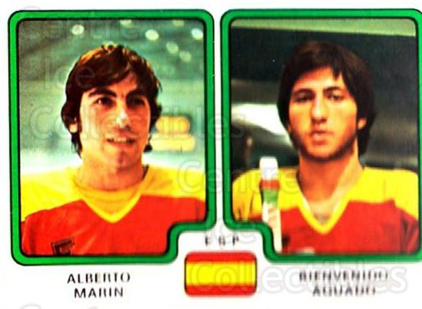 1979 Panini Stickers #373 Alberto Marin, Bienvenido Aguado<br/>8 In Stock - $2.00 each - <a href=https://centericecollectibles.foxycart.com/cart?name=1979%20Panini%20Stickers%20%23373%20Alberto%20Marin,%20...&quantity_max=8&price=$2.00&code=232279 class=foxycart> Buy it now! </a>