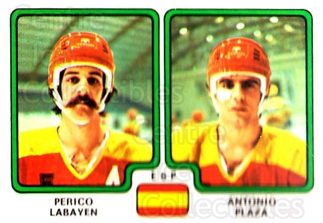 1979 Panini Stickers #376 Perico Labayen, Antonio Plaza<br/>7 In Stock - $2.00 each - <a href=https://centericecollectibles.foxycart.com/cart?name=1979%20Panini%20Stickers%20%23376%20Perico%20Labayen,...&quantity_max=7&price=$2.00&code=232282 class=foxycart> Buy it now! </a>