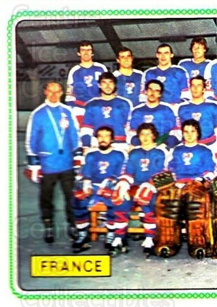 1979 Panini Stickers #377 Team France, Team Photo<br/>5 In Stock - $2.00 each - <a href=https://centericecollectibles.foxycart.com/cart?name=1979%20Panini%20Stickers%20%23377%20Team%20France,%20Te...&quantity_max=5&price=$2.00&code=232283 class=foxycart> Buy it now! </a>