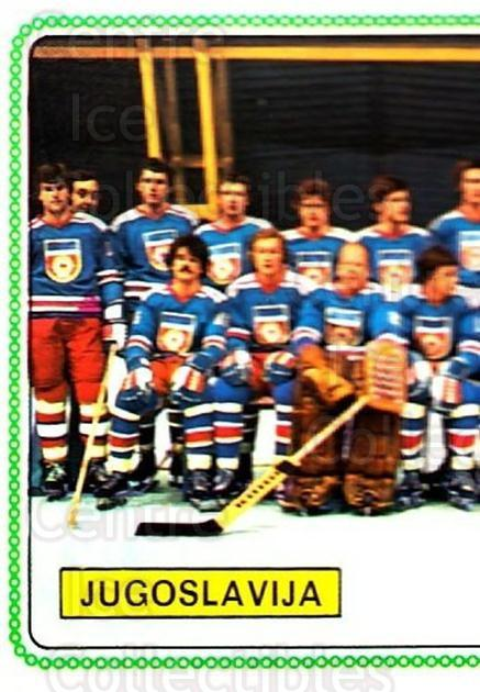 1979 Panini Stickers #393 Team Yugoslavia, Team Photo<br/>7 In Stock - $2.00 each - <a href=https://centericecollectibles.foxycart.com/cart?name=1979%20Panini%20Stickers%20%23393%20Team%20Yugoslavia...&quantity_max=7&price=$2.00&code=232299 class=foxycart> Buy it now! </a>