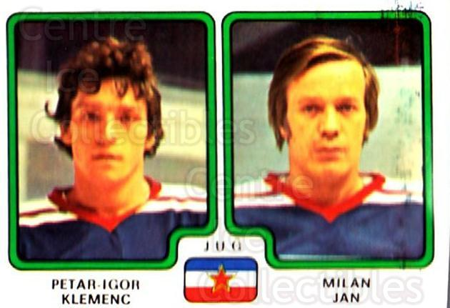 1979 Panini Stickers #400 Petar-Igor Klemenc, Milan Jan<br/>9 In Stock - $2.00 each - <a href=https://centericecollectibles.foxycart.com/cart?name=1979%20Panini%20Stickers%20%23400%20Petar-Igor%20Klem...&quantity_max=9&price=$2.00&code=232306 class=foxycart> Buy it now! </a>