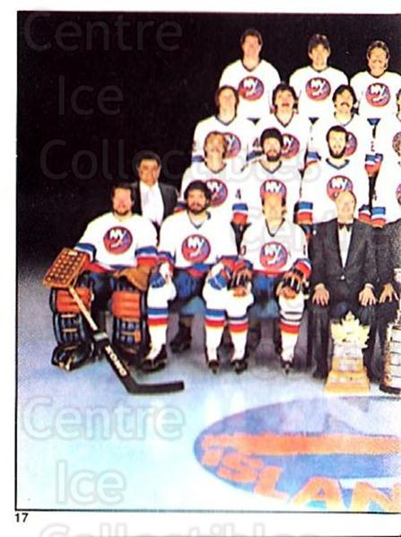 1981-82 O-Pee-Chee Stickers #17 New York Islanders, Team Photo<br/>1 In Stock - $2.00 each - <a href=https://centericecollectibles.foxycart.com/cart?name=1981-82%20O-Pee-Chee%20Stickers%20%2317%20New%20York%20Island...&quantity_max=1&price=$2.00&code=232323 class=foxycart> Buy it now! </a>