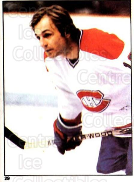 1981-82 O-Pee-Chee Stickers #29 Guy Lafleur<br/>1 In Stock - $3.00 each - <a href=https://centericecollectibles.foxycart.com/cart?name=1981-82%20O-Pee-Chee%20Stickers%20%2329%20Guy%20Lafleur...&quantity_max=1&price=$3.00&code=232335 class=foxycart> Buy it now! </a>