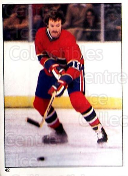 1981-82 O-Pee-Chee Stickers #42 Larry Robinson<br/>1 In Stock - $2.00 each - <a href=https://centericecollectibles.foxycart.com/cart?name=1981-82%20O-Pee-Chee%20Stickers%20%2342%20Larry%20Robinson...&quantity_max=1&price=$2.00&code=232348 class=foxycart> Buy it now! </a>